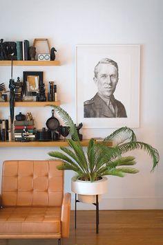 sfgirlbybay / bohemian modern style from a san francisco girl Decor, House Design, Interior Design, Contemporary Garden Design, Interior Inspiration, Retro Home, Home Decor, Home Decor Furniture, Home Decor Inspiration