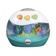 The Calming Seas Projection Soother is a baby noise machine, light show, and music player all in one.