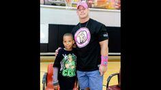WWE.com: Circle of Champions: John Cena grants wishes: photos #WWE