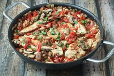 Tuscan Chicken Skillet - an easy one-pan meal the whole family will love!