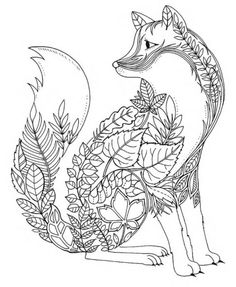 Fox Coloring Animal PagesFNAF