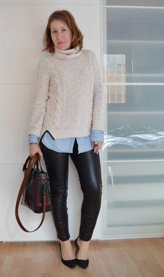 mcompany style: At home. Look con camisa vaquera