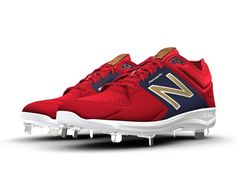 """The 3000v3 low-cut baseball cleat is now available for customization to reflect your team's persona or your own personal on-field style. Described as """"a running shoe on spikes,"""" the 3000v3 is built with REVlite foam for comfort close to the foot, and constructed from materials that provide support, breathability and protection. Create an all-star style with the control and comfort you need to win."""