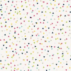 American Crafts - Imaginisce - Welcome Spring Collection - 12 x 12 Double Sided Paper - Confetti at Scrapbook.com
