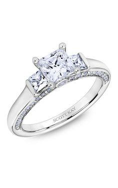 Shop Scott Kay M2616QR510 Engagement rings | Bailey Banks & Biddle