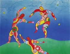 Niki de Saint Phalle riffing on Matisse 3