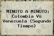 http://tecnoautos.com/wp-content/uploads/imagenes/tendencias/thumbs/minuto-a-minuto-colombia-vs-venezuela-segundo-tiempo.jpg Colombia vs Venezuela. MINUTO A MINUTO: Colombia vs Venezuela (Segundo tiempo), Enlaces, Imágenes, Videos y Tweets - http://tecnoautos.com/actualidad/colombia-vs-venezuela-minuto-a-minuto-colombia-vs-venezuela-segundo-tiempo/