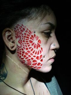 Would you get scarification on your face? | Tattoo.com