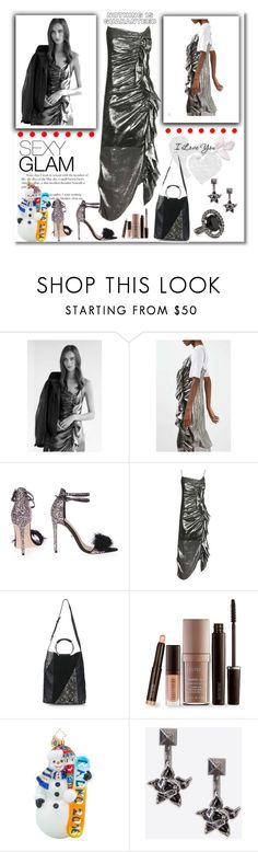 """""""Untitled #76"""" by rousou ❤ liked on Polyvore featuring Topshop, Laura Mercier, Christopher Radko, Valentino and Oscar de la Renta"""