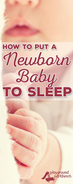 Newborns are too young to formally sleep train - but you can start healthy sleep…