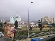 牧港のエンダー通過♡ 雨やめー(  ̄▽ ̄)