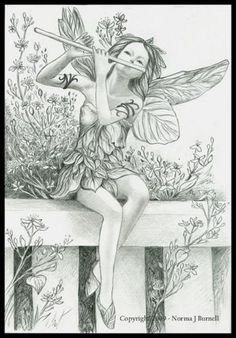 Garden Fairy (By Norma Burnell) ...Love it!!