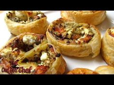 5 Ingredient Pesto Pastry Scrolls ● The One Pot Chef ● YouTube