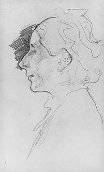 Artist: John Singer Sargent (American, Florence 1856–1925 London) Date: ca. 1882 Medium: Graphite on off-white wove paper Dimensions: 6 5/16 x 3 3/4 in. (16 x 9.5 cm) Classification: Drawings Credit Line: Gift of Mrs. Francis Ormond, 1950 Accession Number: 50.130.122