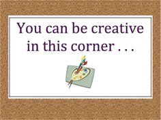 art corner in classroom - Google Search