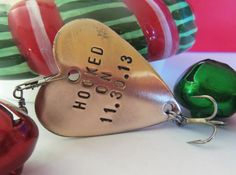 Personalized Anniversary for Men Fish Gifts Fishing Lures Eighth 8th Traditional Anniversary Bronze Gift Custom Husband Boyfriend Valentine on Etsy, $19.00