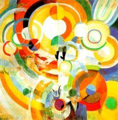 Manège de Cochons, Robert Delaunay
