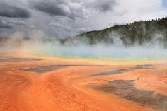 ¡La superficie del supervolcán Yellowstone se está deformando! - https://www.meteorologiaenred.com/supervolcan-yellowstone-esta-deformando.html