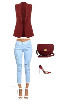 """Untitled #5"" by senadaa-berbic ❤ liked on Polyvore featuring Theory, The Code and Gianvito Rossi"