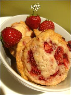 Viens te faire plaisir: Biscuits shortcake aux fraises