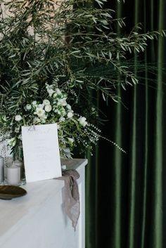 Inside a moody greenery-filled Melbourne wedding: