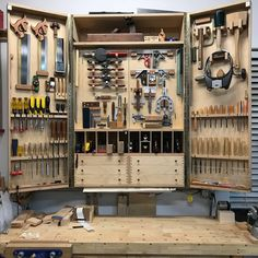 4 Stunning Diy Ideas: Used Woodworking Tools Videos essential woodworking tools other.Woodworking To Woodworking Tool Cabinet, Essential Woodworking Tools, Antique Woodworking Tools, Learn Woodworking, Woodworking Workshop, Woodworking Furniture, Woodworking Crafts, Woodworking Plans, Youtube Woodworking