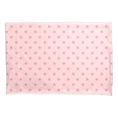 Precious Pink Polka dots Pillowcase