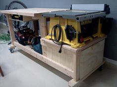 wood workbench with table saw. latest project: table saw workbench wood with