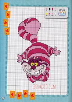 Alice in Wonderland-Cat