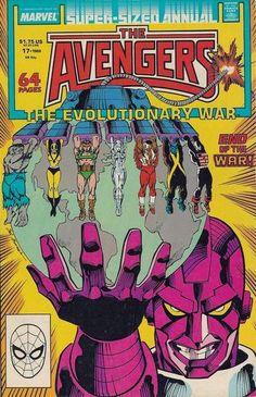 Avengers Annual # 17 by Sal Buscema