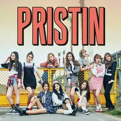 """Pristin"""" is a debut mini album recorded by South Korean girl group Pristin. It was released on March 2017 by Track List Be the Star Wee Woo * Black Kpop Girl Groups, Korean Girl Groups, Kpop Girls, Mamamoo, Pristin Kpop, Pledis Girlz, Album Songs, Music Albums, Pledis Entertainment"""