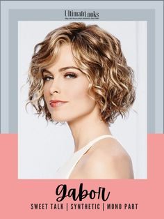 Thoroughly modern. Remarkably natural looking synthetic lace front wig. #hairstyles #hairdo #hairoftheday #styleinspo #styles Cheap Lace Front Wigs, Synthetic Lace Front Wigs, Synthetic Hair, Gabor Wigs, How To Lighten Hair, Natural Looks, Lace Wigs, Wig Hairstyles, Hair Lengths
