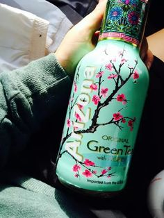 Green tea , think about it