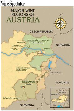 Austrian Wine Regions - Austrian wine is making a comeback!