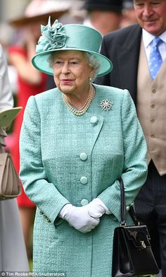 The monarch has attended Ascot every year since she ascended the throne in 1952...