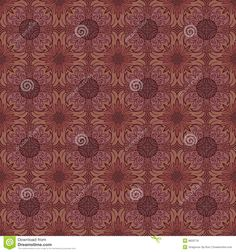 Seamless medieval pattern