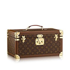Case with mirror - Monogram Canvas - TRAVEL | LOUIS VUITTON