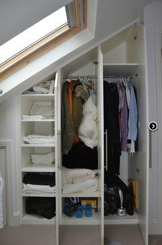 Cupboard in the loft