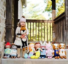 We love our super cute dolls! And for every doll you purchase, we feed ten children in need.