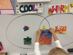 Warm Cool Venn Diagram for Kindergarten - Jamestown Elementary Art Blog
