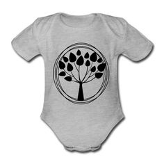 Geschenke Shop   Lebensbaum - Baby Bio-Kurzarm-Body Kind Mode, Babys, Onesies, Meditation, Kids, Babies, Young Children, Boys, Baby