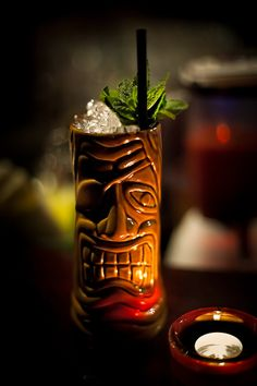 Love having a cool tropical drink out of one of these Mai Tai glasses - very retro :-)