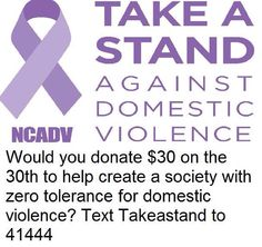NCADV TEXT TO DONATE 41444