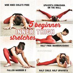 Inner thigh stretches for beginners | İç bacak için başlangıç seviye esnemeleri | Oberschenkelinnenseite-Dehnungen für Anfänger | …