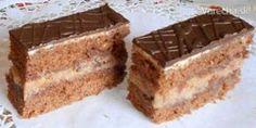 Slovak Recipes, Czech Recipes, Ethnic Recipes, Eastern European Recipes, Vanilla Cake, Nutella, Tiramisu, Banana Bread, Food And Drink
