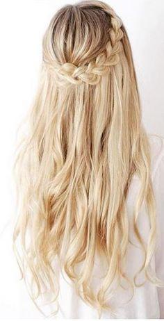 hairstyle idea - oversized crown braid