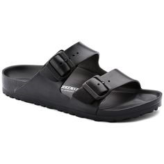 f94a6fdd675609 Arizona Essentials EVA Black Birkenstock Sandals Black
