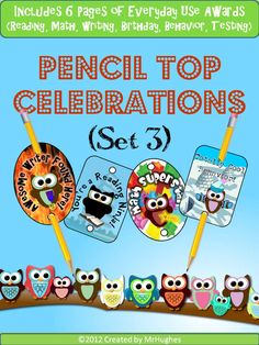 Try these awesome owl themed Pencil Top Celebrations. Owl Theme Classroom, Kindergarten Classroom, School Classroom, School Fun, School Stuff, Classroom Ideas, Classroom Organization, Classroom Management, Behavior Management