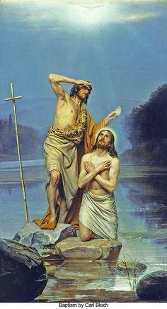 Baptism by Carl Bloch