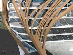 Znalezione obrazy dla zapytania wooden organic buildings